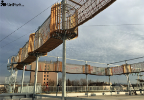 3D maze and rope park Teplice